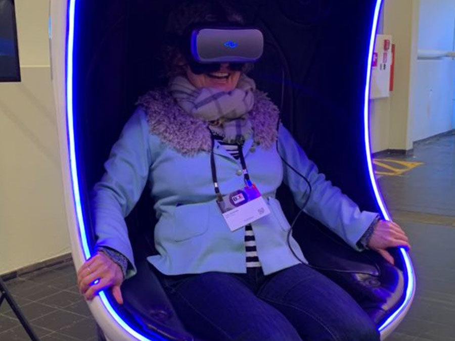 Virtuelle Möglichkeiten für die Reise ins All